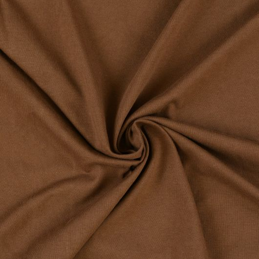 Jersey plachta jednolôžko 80x200cm tmavo hnedá