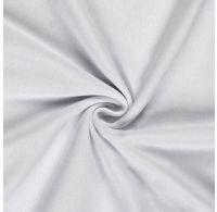 Jersey plachta jednolôžko 90x200cm biela