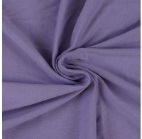 Jersey plachta jednolôžko 90x200cm svetlo fialová