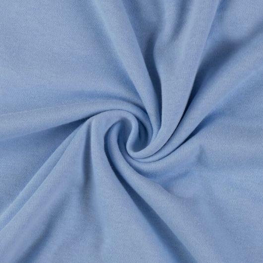 Jersey plachta jednolôžko 90x200cm svetlo modrá
