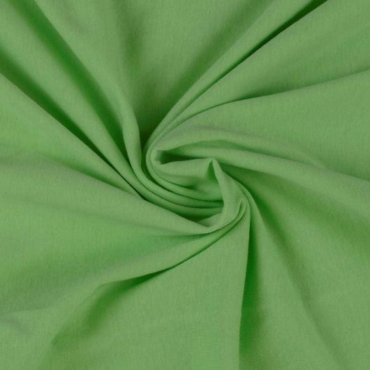 Jersey plachta jednolôžko 90x200cm svetlo zelená