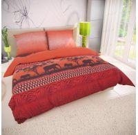 Klasické posteľné bavlnené obliečky 140x200, 70x90cm AFRIKA