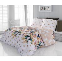 Klasické posteľné bavlnené obliečky 140x200, 70x90cm LAURA
