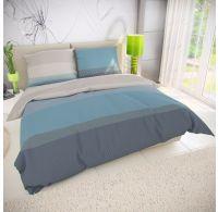 Klasické posteľné bavlnené obliečky 140x200, 70x90cm NEPTUNE