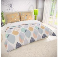 Klasické posteľné bavlnené obliečky 140x200, 70x90cm SERENA
