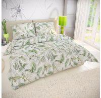 Klasické posteľné bavlnené obliečky 140x200, 70x90cm TROPICANA