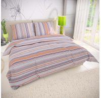 Klasické posteľné bavlnené obliečky 140x200, 70x90cm VENTA béžová