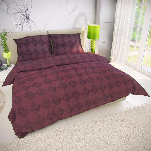 Klasické posteľné bavlnené obliečky AMETHYST 140x200, 70x90cm