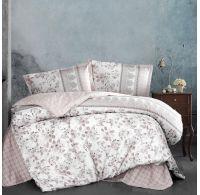 Klasické posteľné flanelové obliečky 140x200, 70x90cm BUDVA hnědá