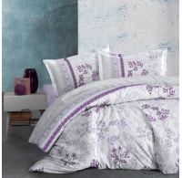 Klasické posteľné flanelové obliečky 140x200, 70x90cm LAVENDA fialová