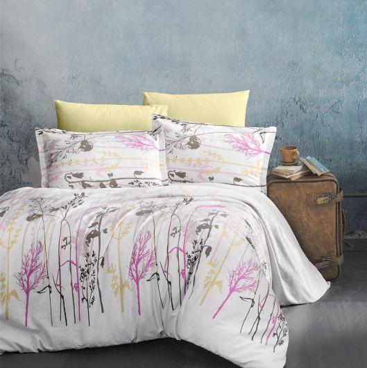 Klasické posteľné flanelové obliečky 140x200, 70x90cm SANTORINI