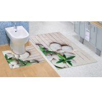 Kúpeľňová a WC predložka Jadran 3D