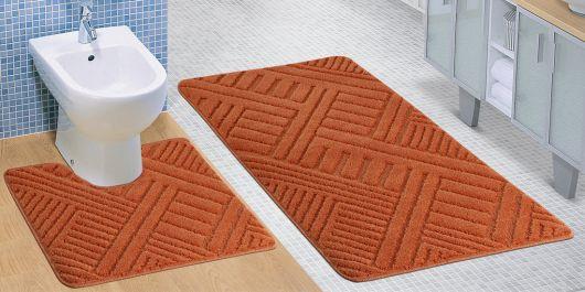 Kúpeľňová a WC predložka línie terra