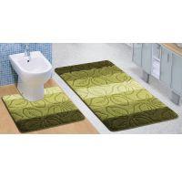 Kúpeľňová a WC predložka lipa zelená