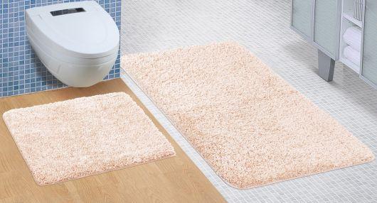 Kúpeľňová a WC predložka Micro béžová