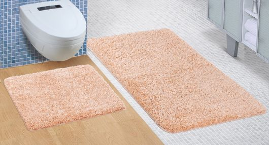 Kúpeľňová a WC predložka Micro lososová