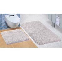 Kúpeľňová a WC predložka Micro sivá
