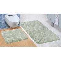 Kúpeľňová a WC predložka Micro zelená