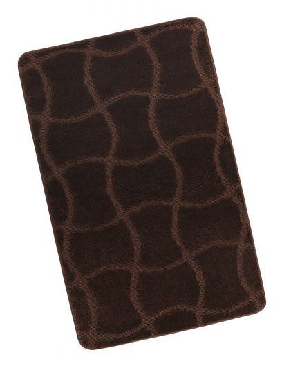 Kúpeľňová predložka 60x100cm hnedá čokoláda