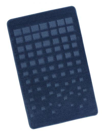 Kúpeľňová predložka 60x100cm modrá dlaždice