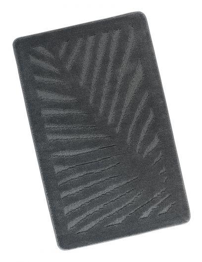 Kúpeľňová predložka 60x100cm sivý list