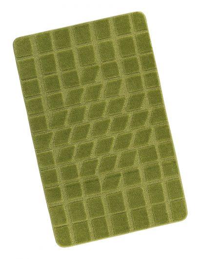 Kúpeľňová predložka 60x100cm zelený mach
