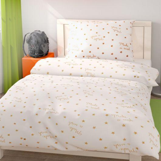 Posteľné obliečky pre mladých 140x200, 70x90cm Stars