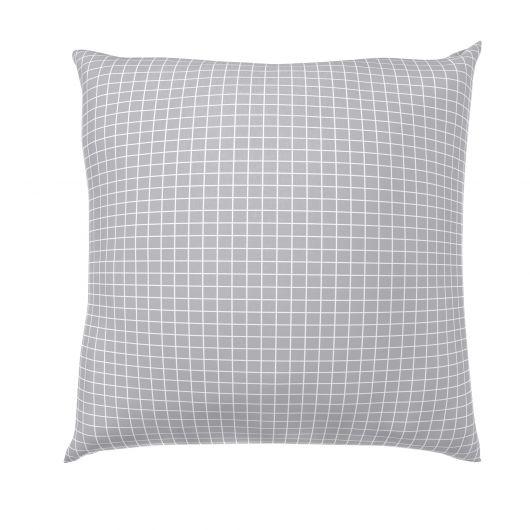 Obliečka na vankúš bavlna NORDIC COLLECTION - KARE sivé