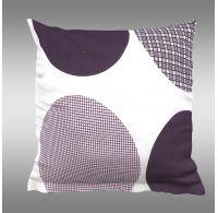 Obliečka na vankúš hladká bavlna AVA fialová
