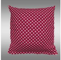 Obliečka na vankúš bavlnený Canzone červené puntík