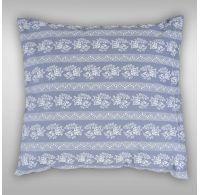 Obliečka na vankúš hladká bavlna PROVENCE - Eleonora sivá