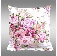 Obliečka na vankúš hladká bavlna PROVENCE - Ester ružová
