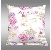 Obliečka na vankúš hladká bavlna PROVENCE - Leontýna ružová