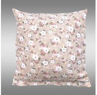 Obliečka na vankúš hladká bavlna PROVENCE - Olívie béžová