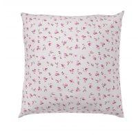 Obliečka na vankúš hladká bavlna PROVENCE ROSE fialové reverse