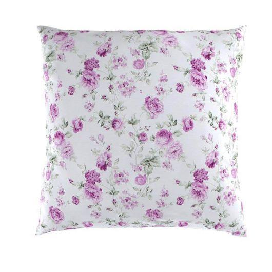 Obliečka na vankúš hladká bavlna PROVENCE VIENTO ružové