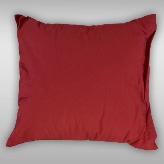 Povlak na vankúš hladká bavlna PROVENCE - bordó