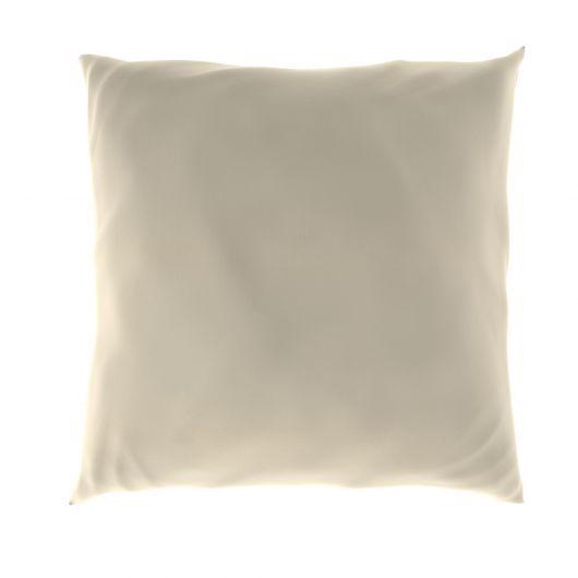 Obliečka na vankúš hladká bavlna SMOTANOVÝ