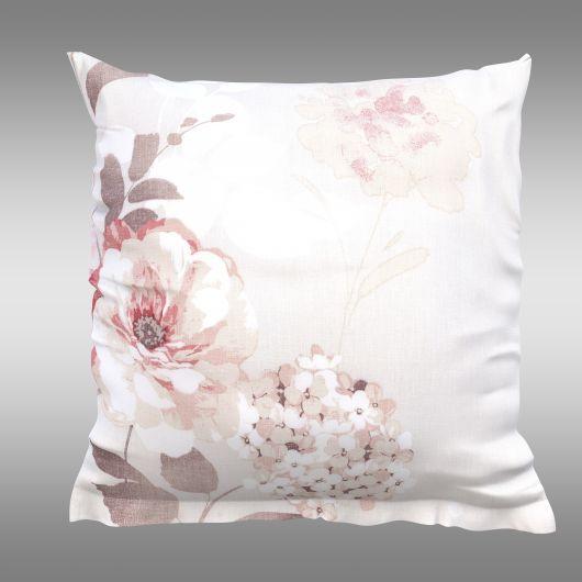 Obliečka na vankúš hladká bavlna TANEA ružová