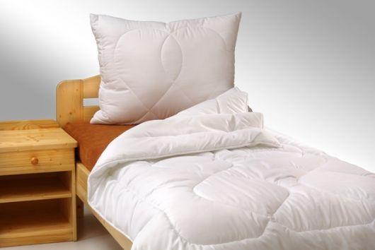 Predĺžený paplon Standard 140x220cm zimny biely