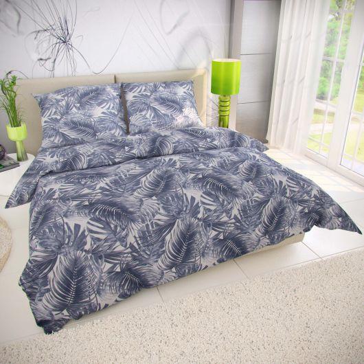 Predĺžené bavlnené obliečky 140x220, 70x90cm PUMA sivá