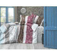 Predľžené posteľné bavlnene obliečky CARMEN 140x220, 70x90cm