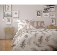 Predĺžené bavlnené obliečky NORDIC COLLECTION 140x220, 70x90cm SHELBY