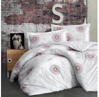 Predĺžené posteľné flanelové obliečky 140x220, 70x90cm HUMA béžová