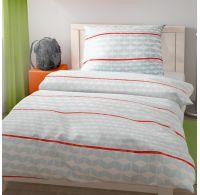 Predĺženej posteľné obliečky pre mladých 140x220, 70x90cm Positive