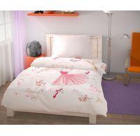 Predĺžené posteľné obliečky pre mladých 140x220, 70x90cm Romantic girl