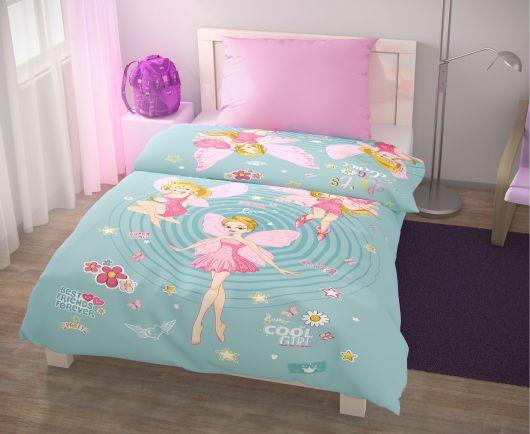 Predĺžené posteľné obliečky pre mladých 140x220, 70x90cm Víly
