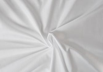 Prestieradlo jednolôžkové napínacie Atlas hladký 90x200cm biele