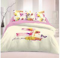 Saténové postel'né obliečky Luxury Collection ART 140x200, 70x90cm