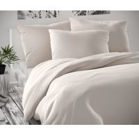 Saténové postel'né obliečky Luxury Collection biele 140x200, 70x90cm